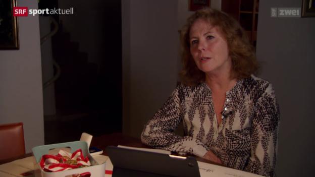 Video «Helden von gestern: Cornelia Bürki» abspielen