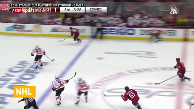 Video «Fehlstart für zwei Schweizer in den NHL-Playoffs» abspielen