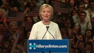 Video «Hillary Clinton, die erste Präsidentschaftsbewerberin der USA» abspielen