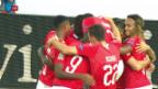 Video «Rückblick auf den Kantersieg der Schweiz gegen Island» abspielen