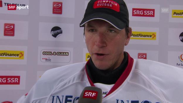 Video «Eishockey: Stimmen zu ZSC Lions - Lausanne» abspielen