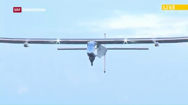 Video «Solar Impulse fliegt wieder» abspielen