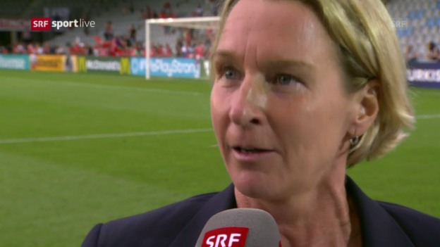 Video «Voss-Tecklenburg: «Wollten die Schweiz stolz machen»» abspielen