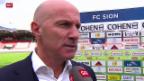 Video «Fussball: Stimmen zu Sion - Luzern» abspielen