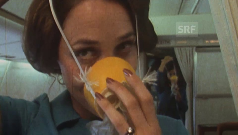 So arbeiteten die Airhostessen 1974