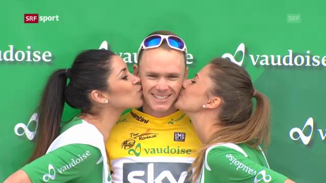 Chris Froome gewinnt TdR