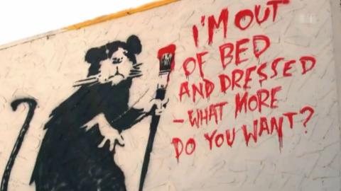 Banksy, Blu und Barbara - der Hype um die anonymen Stars