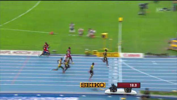Video «200 m Männer» abspielen