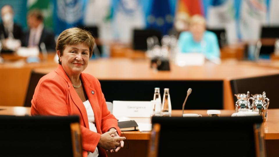 Exekutivkomitee stärkt IWF-Chefin Georgiewa den Rücken