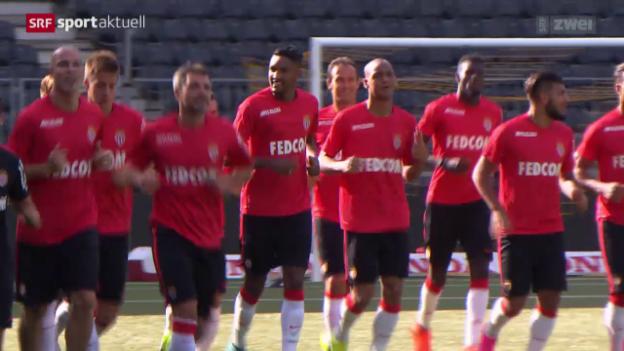 Video «Fussball: YB vor der CL-Quali gegen Monaco» abspielen