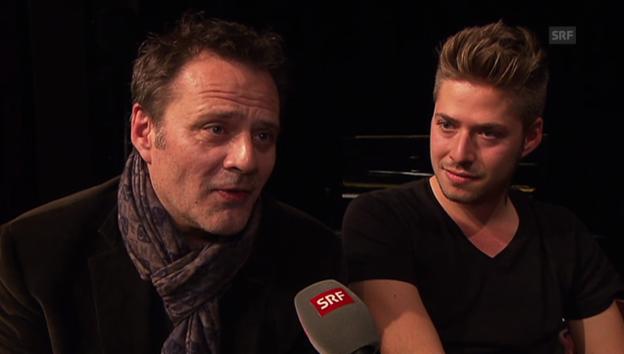 Video «Heinz Margot über die Karrierewahl seines Sohnes.» abspielen