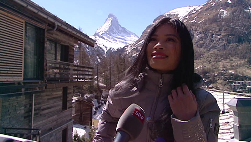 Der erste Besuch in Zermatt