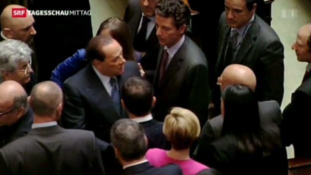 Video «Italien wählt neuen Staatspräsidenten» abspielen