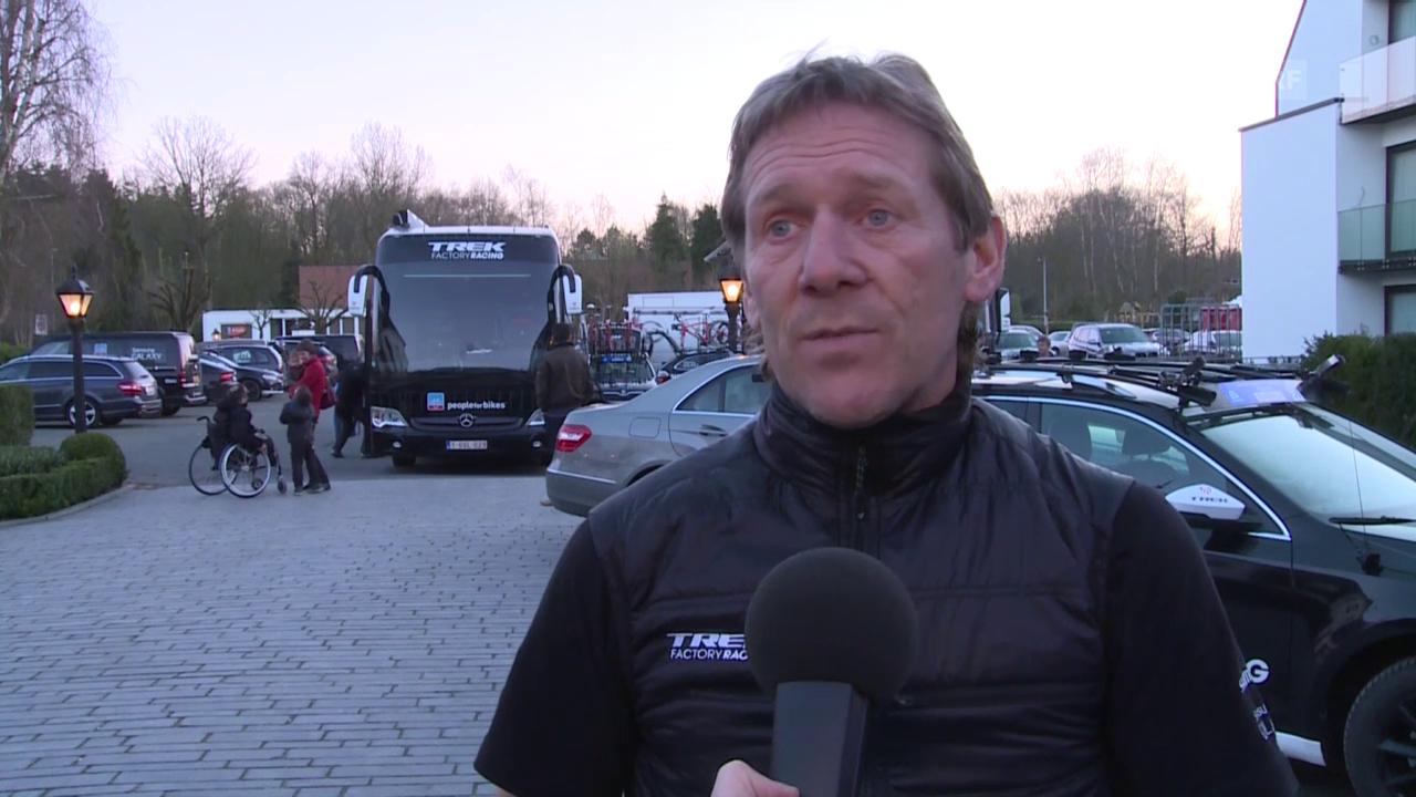 Rad: Sturz Cancellara, Interview mit Trek-Sportdirektor Demol