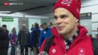 Video «Sotschi: Ankunft der Schweizer Olympioniken» abspielen