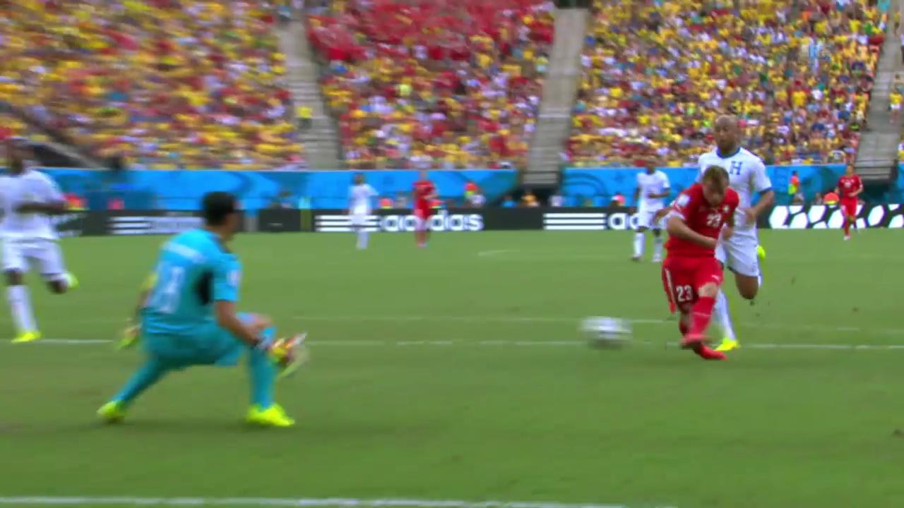FIFA WM 2014: Spielbericht Honduras - Schweiz