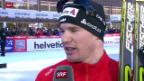 Video «Langlauf: Tour de Ski, 4. Etappe» abspielen