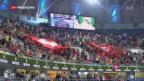 Video «Federer glückt Auftakt in Schanghai» abspielen