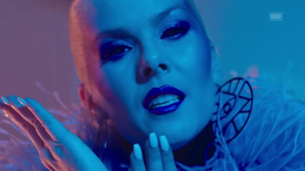 Video «Island - Svala mit «Paper»» abspielen