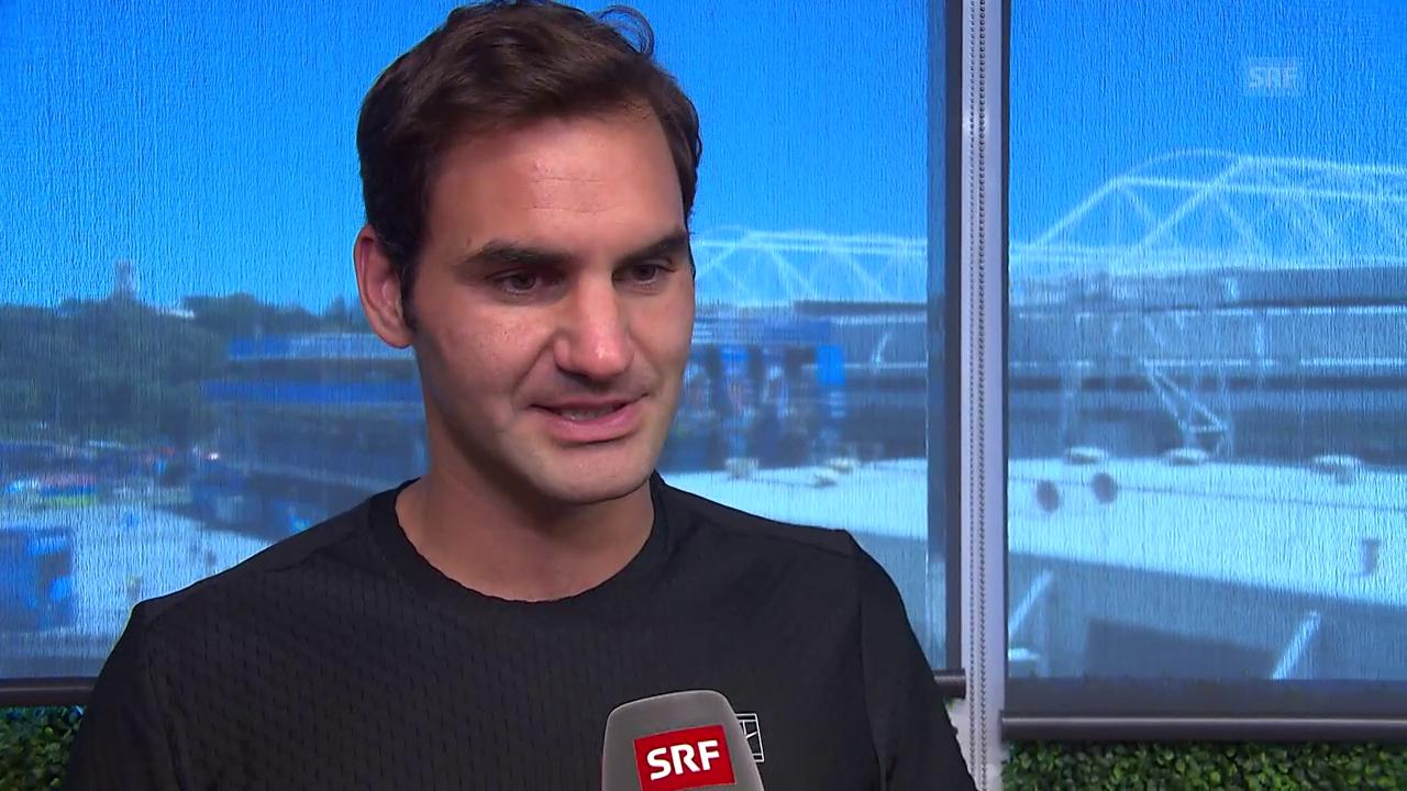 Federer: «Muss die Befreitheit von letztem Jahr mitnehmen»