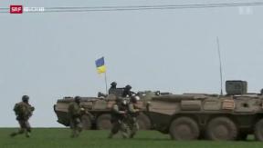 Video «Weitere Kämpfe in der Ostukraine» abspielen