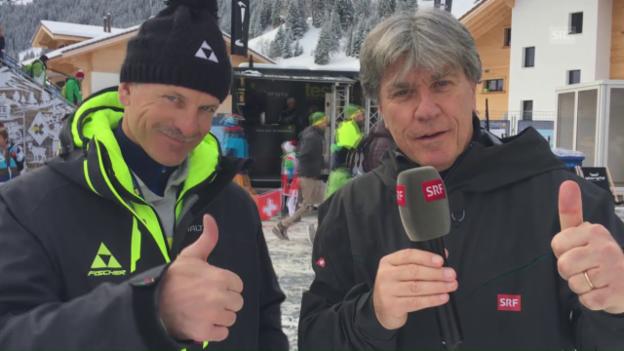 Video «Mike von Grünigen und seine Sternstunde am Chuenisbärgli» abspielen