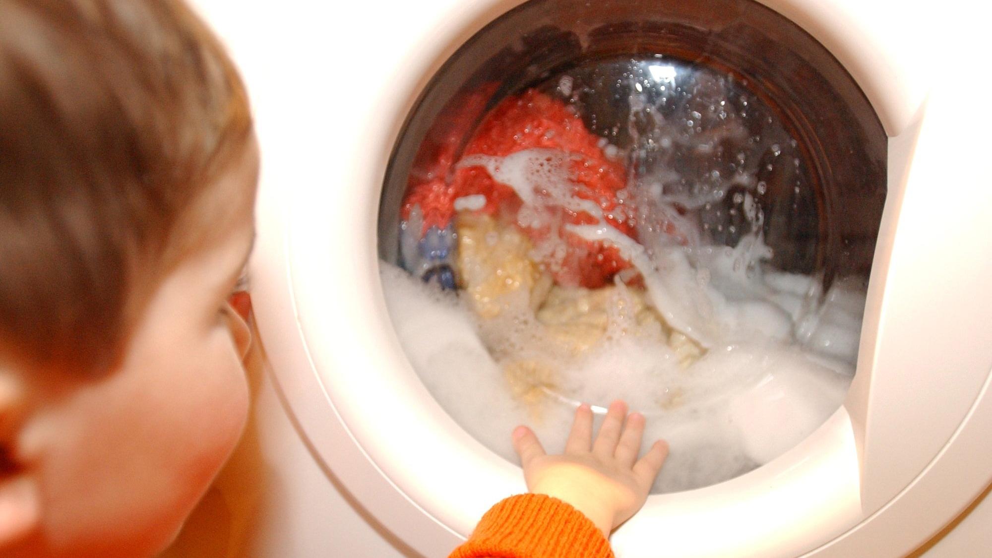 Was das Fenster in der Waschmaschine soll