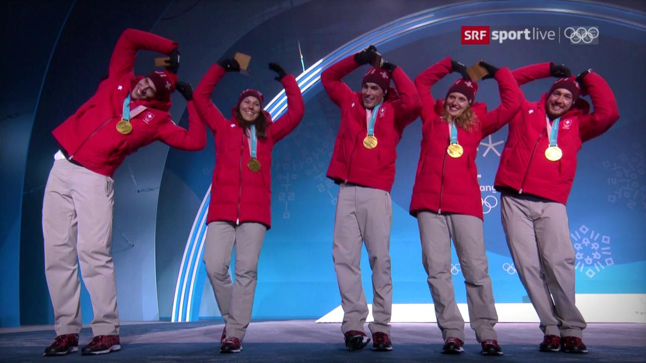 Schweizer Medaillen im Schnelldurchlauf