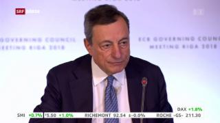 Video «EZB beendet Anleihekäufe » abspielen
