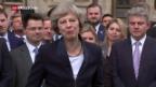Video «Theresa May wird am Mittwoch vereidigt» abspielen