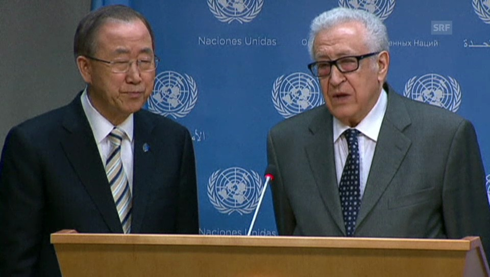 Brahimi wirft hin (englisch)