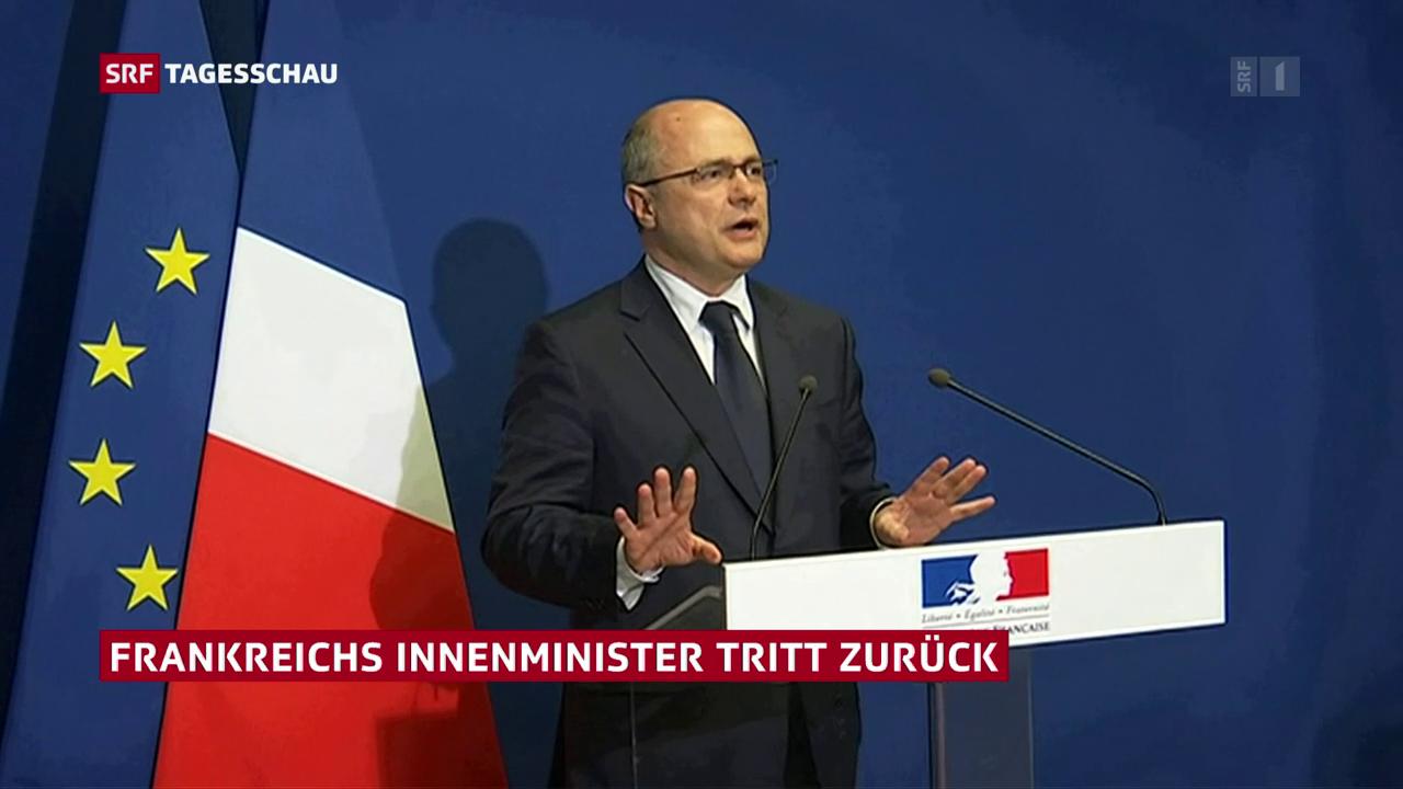 Frankreichs Innenminister Le Roux tritt zurück