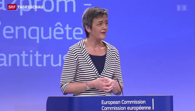 Video «EU legt sich mit Gazprom an» abspielen