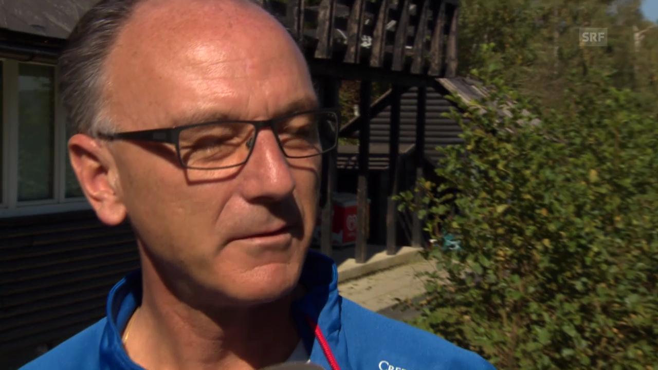 Fussball: EM-Qualifikation, Interview mit Nati-Arzt Wetzel