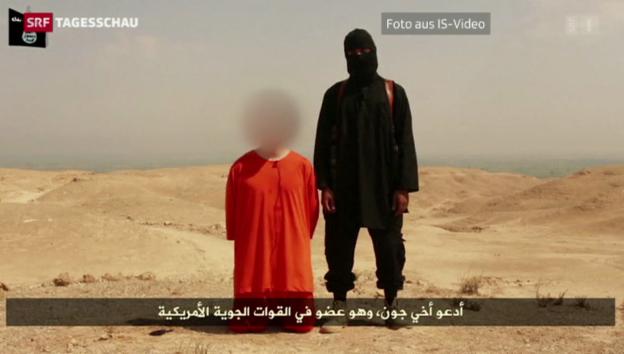 Video «Amerikanischer Journalist von IS enthauptet» abspielen