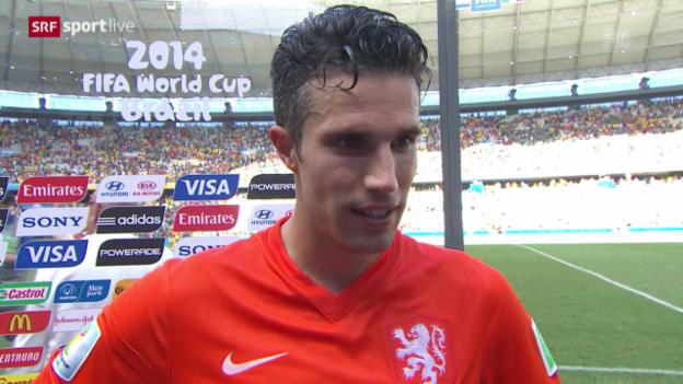 Video «Interview mit Robin van Persie» abspielen