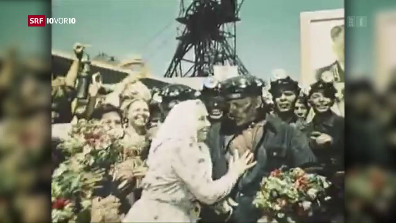 «10vor10»-Serie: Untergang der UdSSR – Bergbau