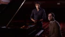 Video «Zwei Visionen: der Dirigent und der Solist» abspielen
