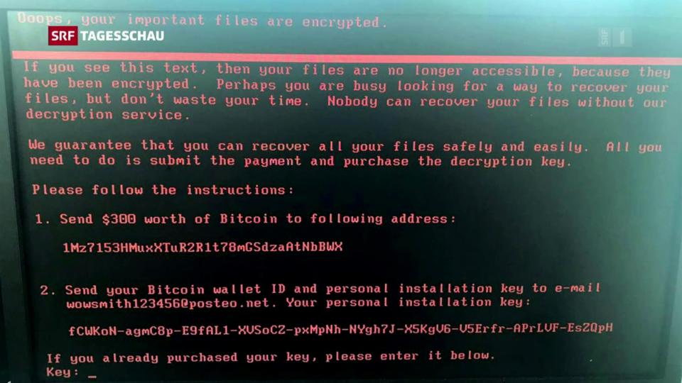 Archiv: Cyber-Attacken bedrohen weltweit verschiedene Unternehmen und Organisationen.