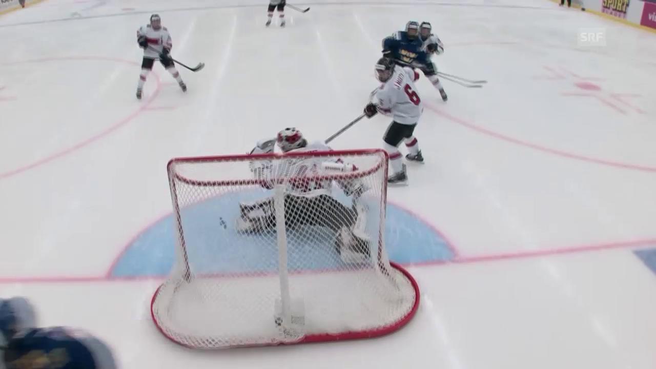 Eishockey: Frauen-WM 2015, Schweiz – Schweden, 0:3 durch Johansson