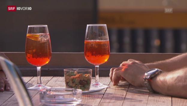 Video «Kalorienangaben auf alkoholischen Getränken? («10vor10», 28.7.2015)» abspielen