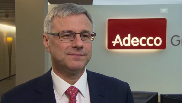 Video «Adecco-Chef Alain Dehaze zur Digitalisierung der Arbeitswelt» abspielen