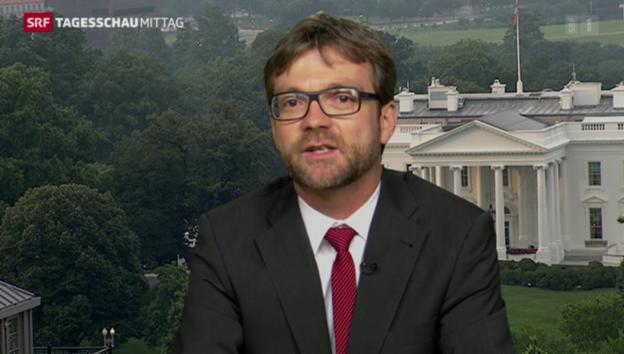 Video «Peter Düggeli zur Position der USA im Atom-Abkommen» abspielen