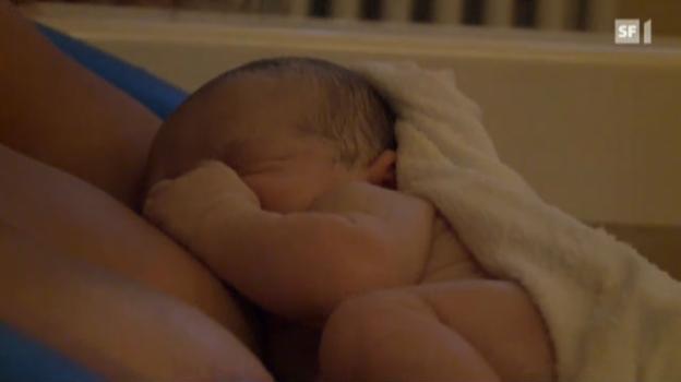 Video «Geburt unter Selbsthypnose» abspielen