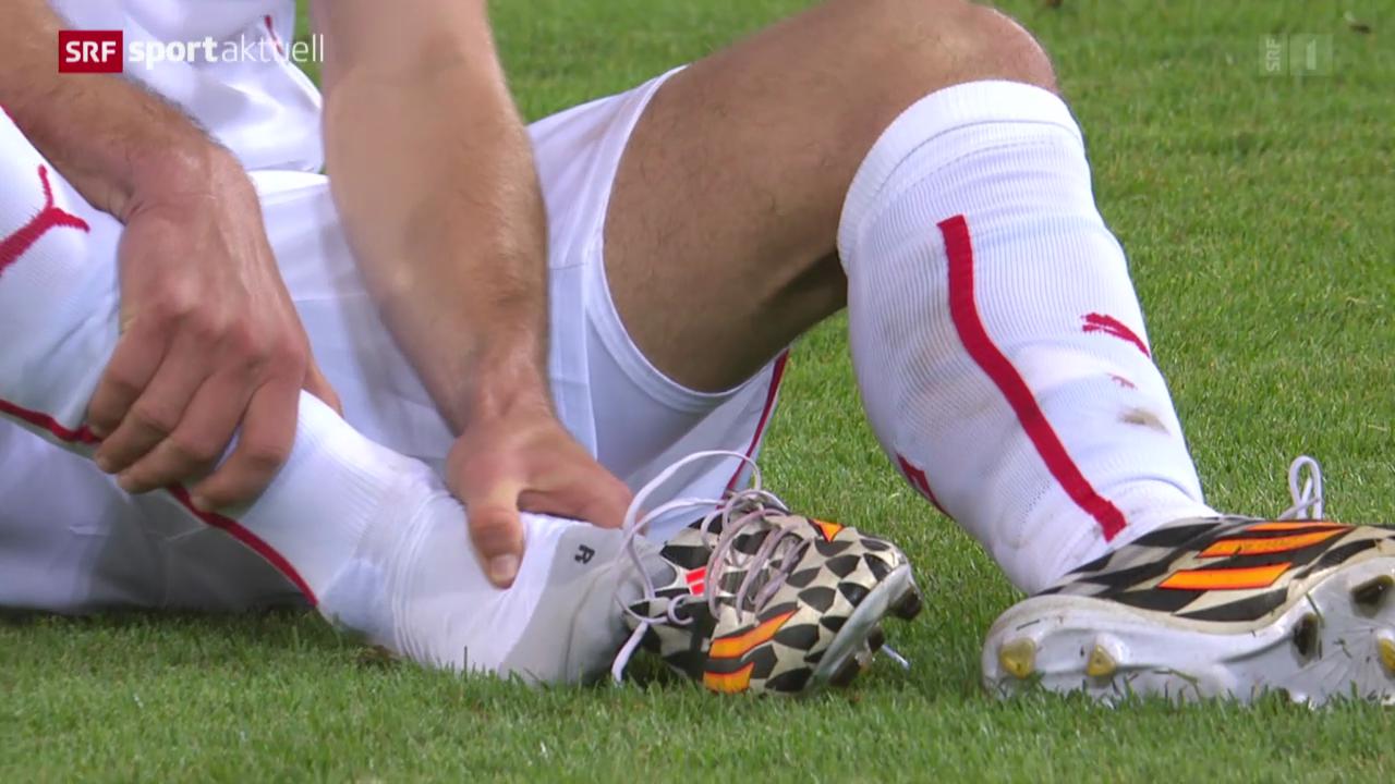 Fussball: Wie geht es den angeschlagenen Nati-Spielern?