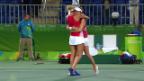 Video «Bacsinszky/Hingis stehen im Final» abspielen