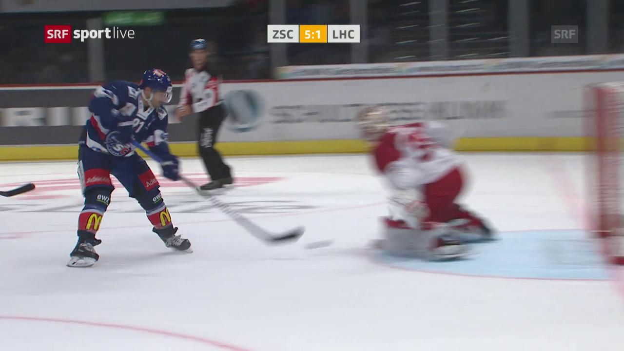 ZSC Lions mit klarem Sieg gegen Lausanne