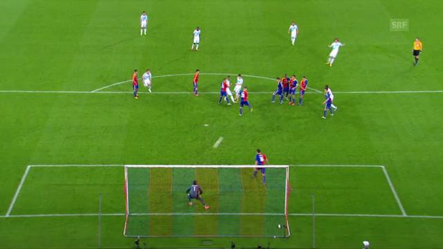 Die auffälligsten Aktionen von Hazard und Luiz im Hinspiel