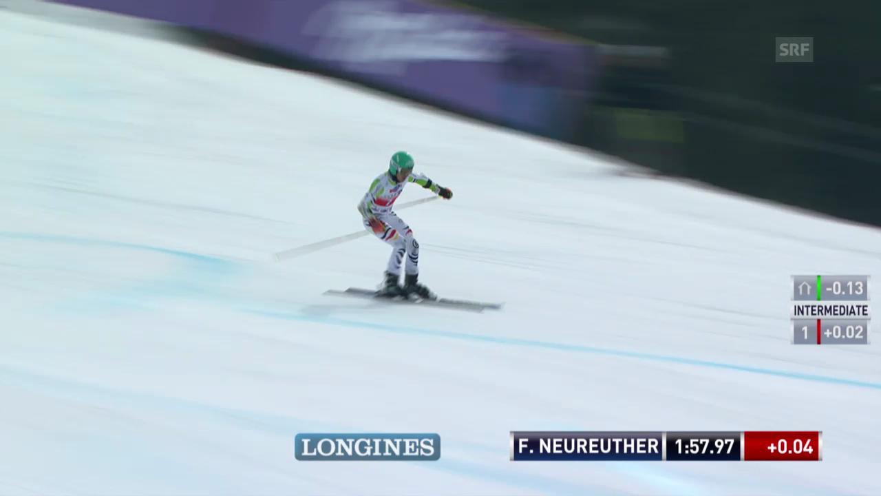 Ski: Riesenslalom Lenzerheide, Der 2. Lauf von Felix Neureuther («sportlive», 15.03.2014)
