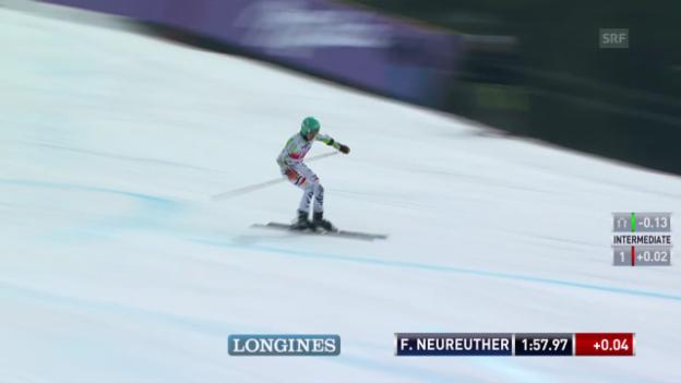 Video «Ski: Riesenslalom Lenzerheide, Der 2. Lauf von Felix Neureuther («sportlive», 15.03.2014)» abspielen
